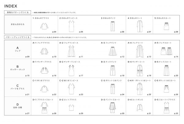 Clothes for adults to make by pattern arrangement by TOWN
