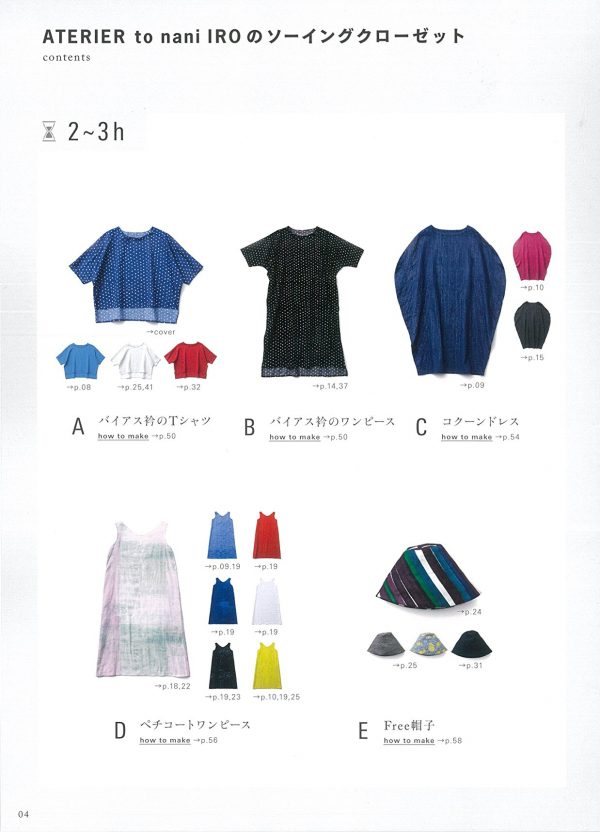 Sewing closet of ATELIER to nani IRO