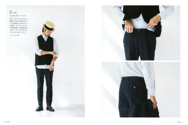 MENS PANTS by Yoshihide Sugimoto(SUNDAY & SONS)