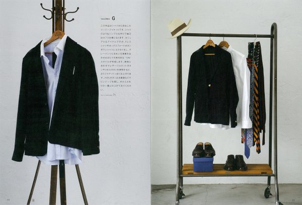 MENS Shirt Book from Casual to Dressy by Yoshihide Sugimoto(SUNDAY & SONS)