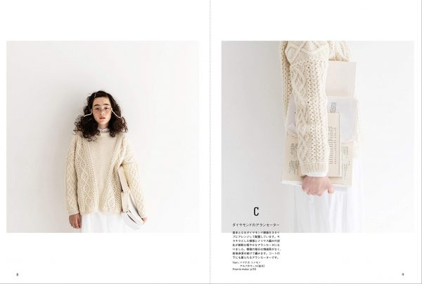 White Yarn Knit Sweaters and Goods by Saichika1
