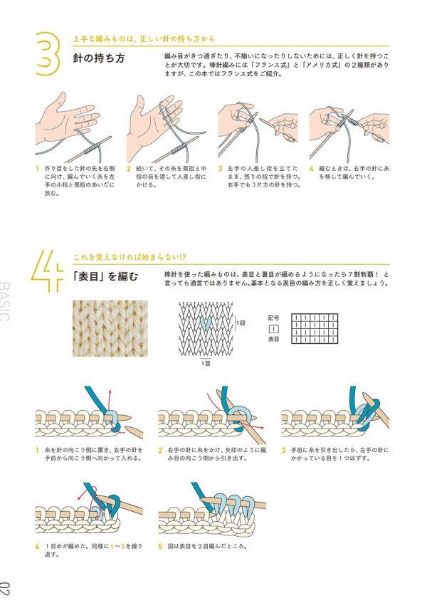 KNIT KIT BOOK by Saichika - Japanese knitting book