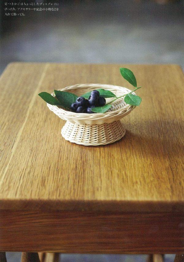 Basic book for making wicker baskets(rattan basket)